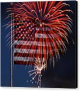 Independence Day Canvas Print by Skip Willits