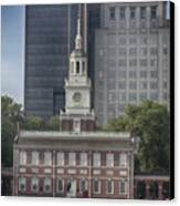 Independence Hall Canvas Print by Tom Gari Gallery-Three-Photography