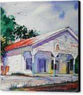 Indian Pass Raw Bar Canvas Print by Chuck Creasy