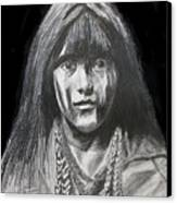 Indian Princess Canvas Print by Stan Hamilton