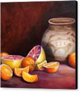 Iranian Still Life Canvas Print by Enzie Shahmiri