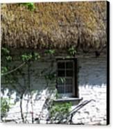 Irish Farm Cottage Window County Cork Ireland Canvas Print by Teresa Mucha