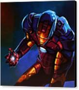 Iron Man Canvas Print by Paul Meijering