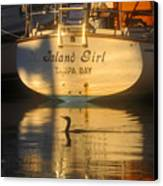 Island Girl Canvas Print by David Lee Thompson