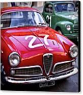 Italian Classics Alfa Romeo Canvas Print by Patrick English