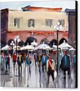 Italian Marketplace Canvas Print by Ryan Radke