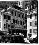 Italian Riviera Canvas Print by Corinne Rhode