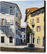 Italian Street Canvas Print by Paul Walsh