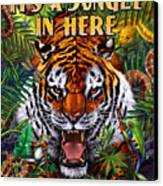 It's A Jungle  Canvas Print by JQ Licensing