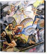 Jacob's Dream Canvas Print by Guri Stark