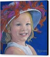 Jada's Hat Canvas Print by Tanja Ware