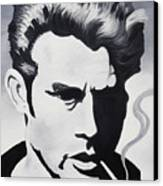 James Dean  Canvas Print by Joseph Palotas