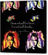 James Dean Canvas Print by Mo T