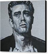 James Dean One Canvas Print by Eric Dee
