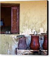 Jars Canvas Print by Armando Picciotto