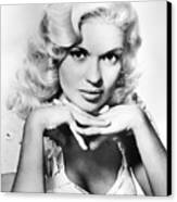 Jayne Mansfield  (1933-1967) Canvas Print by Granger