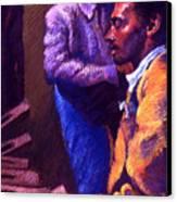 Jazz Canvas Print by Ellen Dreibelbis
