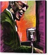 Jazz. Ray Charles.2. Canvas Print by Yuriy  Shevchuk