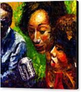Jazz  Ray Song Canvas Print by Yuriy  Shevchuk