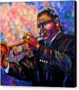 Jazz Solo Canvas Print by Linda Marcille
