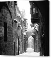 Jerusalem: Winter Canvas Print by Granger
