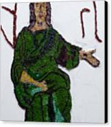 Jesus Canvas Print by Emma Kinani