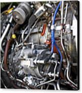 Jet Engine Canvas Print by Ricky Barnard
