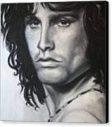 Jim Morrison Canvas Print by Eric Dee
