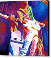 Jimi Hendrix - The Ultimate Canvas Print by David Lloyd Glover