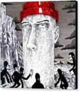 Jocko Homo Canvas Print by Jeremy Baum