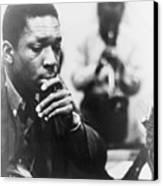 John Coltrane 1926-1967, Master Jazz Canvas Print by Everett