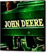 John Deere 2 Canvas Print by Cheryl Young