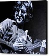John Lennon Canvas Print by Luke Morrison