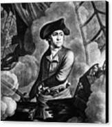 John Paul Jones 1747-1792, American Canvas Print by Everett