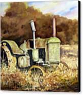 Johnny Popper Canvas Print by Sam Sidders