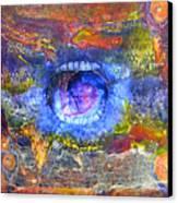 Joy Or Despair Canvas Print by Janelle Schneider