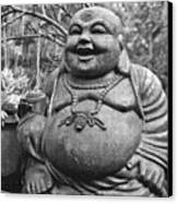 Joyful Lord Buddha Canvas Print by Karon Melillo DeVega
