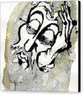 Judgment Of Zeus Canvas Print by Mark M  Mellon