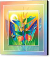 Jungle Sunset Canvas Print by Jack Potter