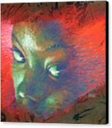 Junglevision Canvas Print by Ken Meyer jr