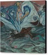 Jupiter Surf Canvas Print by Stu Hanson