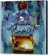K-os Atlantis Hymns For Disco Canvas Print by Nelson Garcia