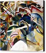 Kandinsky: White, 1913 Canvas Print by Granger