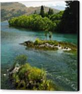 Kawerau River Canvas Print by Kevin Smith