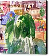 Keokuk Legacy Canvas Print by Jame Hayes