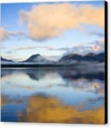 Ketchikan Sunrise Canvas Print by Mike  Dawson