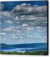 Keuka Landscape Iv Canvas Print by Steven Ainsworth