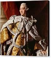 King George IIi Canvas Print by Allan Ramsay