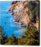 Kirby Cove San Francisco Bay California Canvas Print by Utah Images