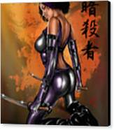 Kitsune Canvas Print by Pete Tapang